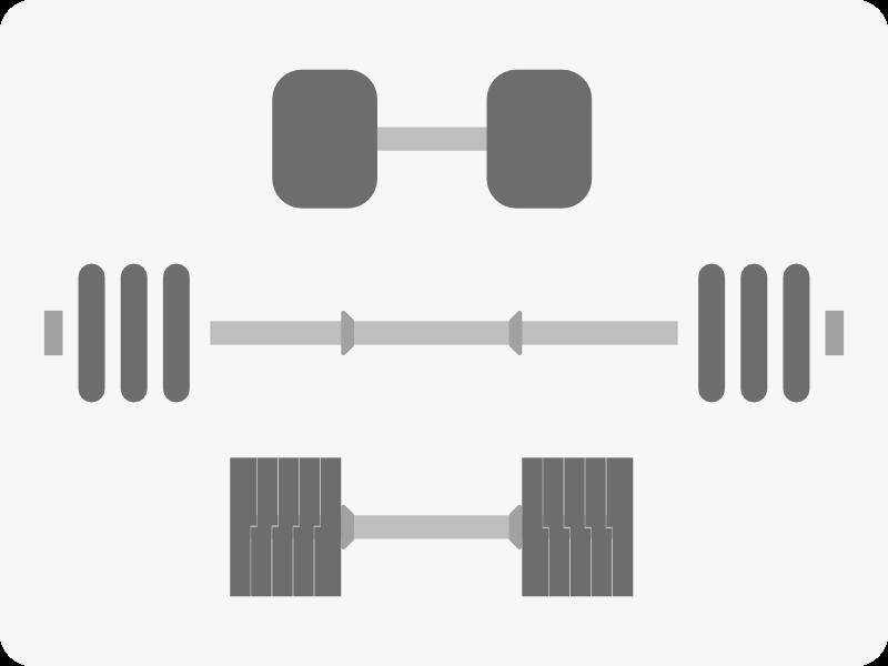 ダンベルの重量変更方式